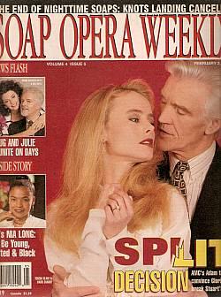 Soap Opera Weekly February 2, 1993