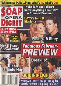 Soap Opera Digest - February 2, 1999