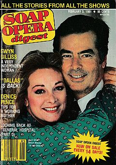 February 3, 1981 issue of Soap Opera Digest