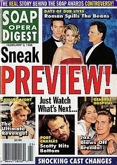 Soap Opera Digest - February 3, 1998
