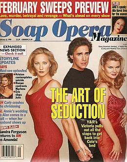 Soap Opera Magazine February 3, 1998