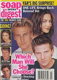 Soap Opera Digest Feb. 4, 2003