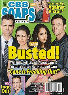 CBS Soaps In Depth February 4,2019