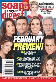 February 4, 2019 Soap Opera Digest