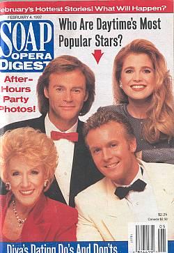 Soap Opera Digest February 4, 1992