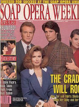 Soap Opera Weekly February 4, 1992