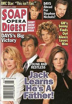 Soap Opera Digest Feb. 5, 2002