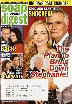 Soap Opera Digest Feb. 5, 2008