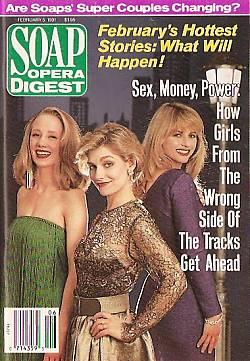 Soap Opera Digest February 5, 1991