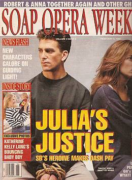 Soap Opera Weekly February 5, 1991