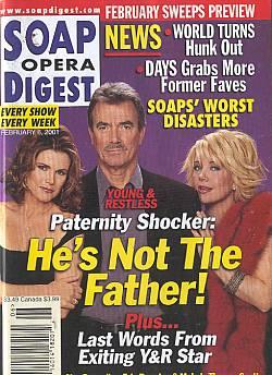 Soap Opera Digest Feb. 6, 2001