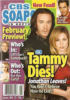CBS Soaps In Depth February 6, 2007