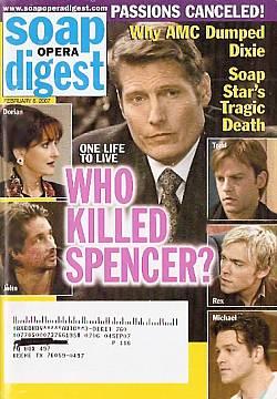 Soap Opera Digest Feb. 6, 2007