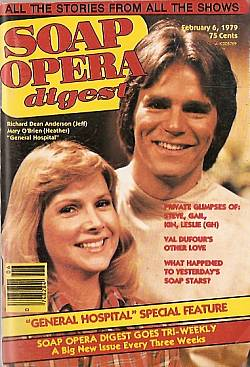 February 6, 1979 issue of Soap Opera Digest