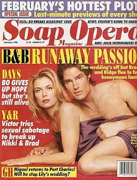 Soap Opera Magazine February 6, 1996
