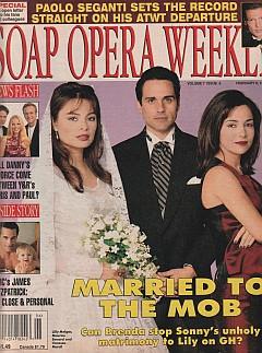 Soap Opera Weekly February 6, 1996