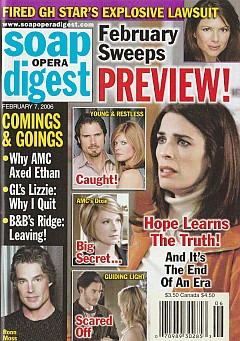 Soap Opera Digest Feb. 7, 2006