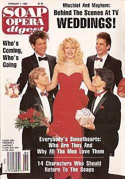 February 7, 1989 Soap Opera Digest