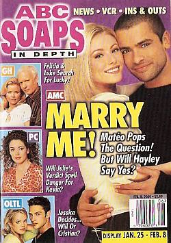 ABC Soaps In Depth February 8, 2000
