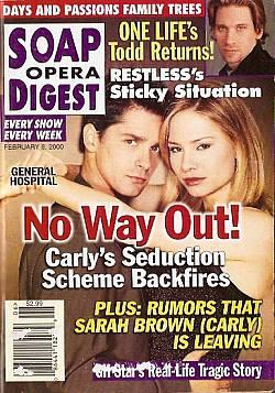 Soap Opera Digest - February 8, 2000