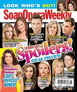 Soap Opera Weekly - February 8, 2011