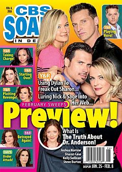 February 8, 2016 issue of CBS Soaps 