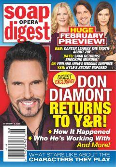 Soap Opera Digest February 8, 2021