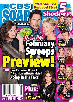 February 9, 2015 issue of CBS Soaps In Depth magazine