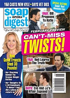 Soap Opera Digest Feb. 9, 2015