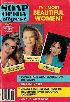 Soap Opera Digest February 9, 1988