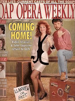 Soap Opera Weekly February 9, 1993