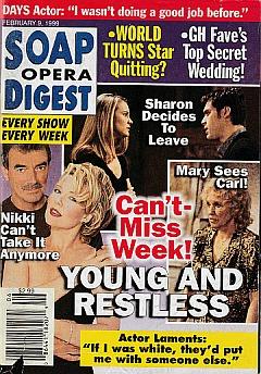 Soap Opera Digest - February 9, 1999