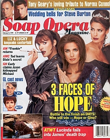 Soap Opera Magazine Feb. 9, 1999