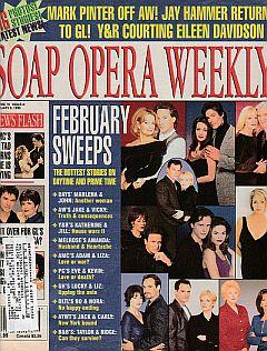 Soap Opera Weekly February 9, 1999