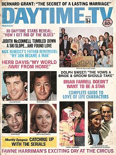 Daytime TV - March 1975