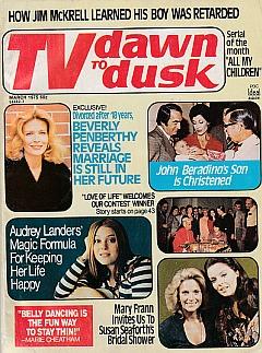 TV Dawn To Dusk March 1975