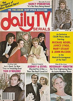 Daily TV Serials March 1977