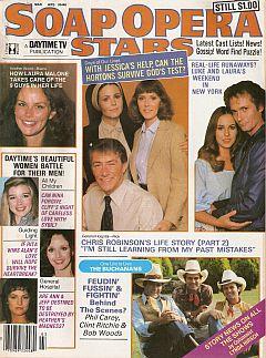 Soap Opera Stars March 1981