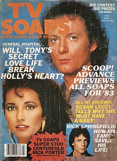 March 1983 Premiere Issue of TV Soaps magazine