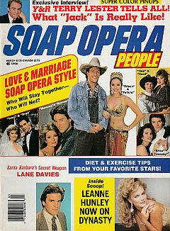 March 1987 issue of Soap Opera People magazine