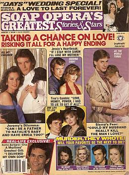 Soap Opera's Greatest Stories & Stars March 1987