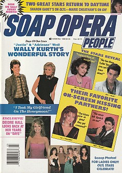 Soap Opera People March 1988