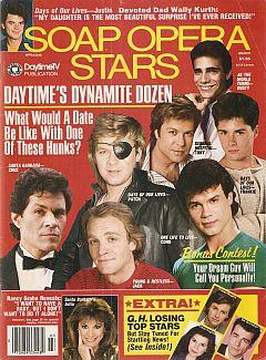 Soap Opera Stars March 1988