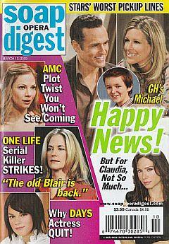 Soap Opera Digest March 10, 2009