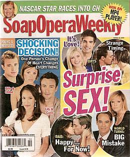 Soap Opera Weekly March 10, 2009