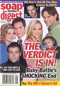 Soap Opera Digest March 1, 2005