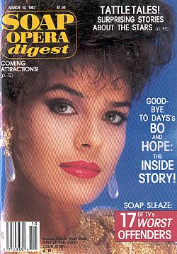 Soap Opera Digest March 10, 1987