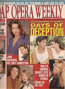 Soap Opera Weekly March 10, 1992