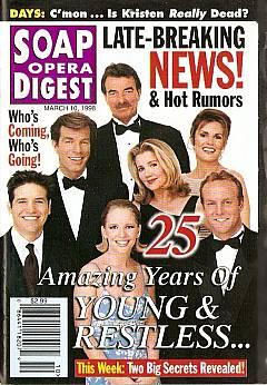 Soap Opera Digest - March 10, 1998