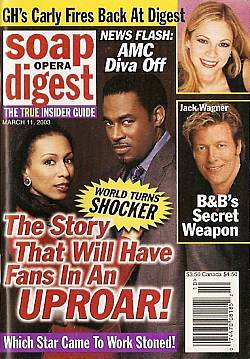 Soap Opera Digest March 11, 2003